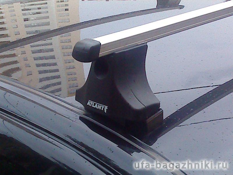 Багажник на крышу Renault Sandero, Атлант, прямоугольные дуги