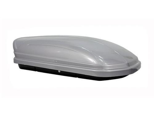 Автомобильный бокс на крышу, Menabo Mania 320 литров, серебристый металлик