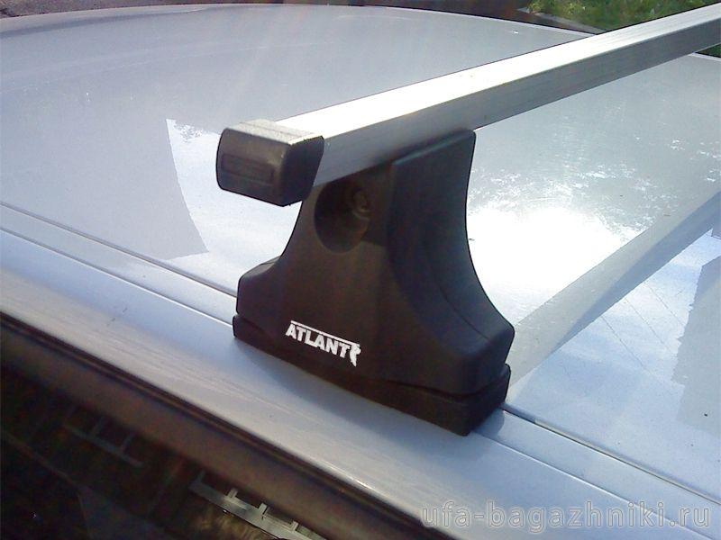 Багажник на крышу Mazda 3 (BK/BL) 2003-13, Атлант, прямоугольные дуги