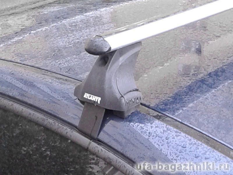 Багажник на крышу Chevrolet Cruze, Атлант, аэродинамические дуги, опора Е
