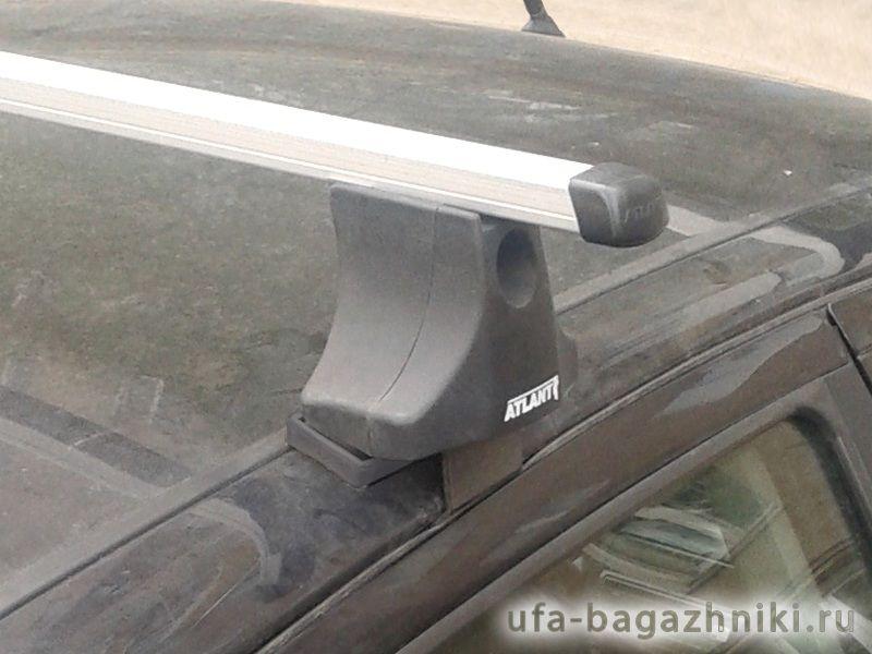 Багажник на крышу Ford Focus 1, Атлант, прямоугольные дуги