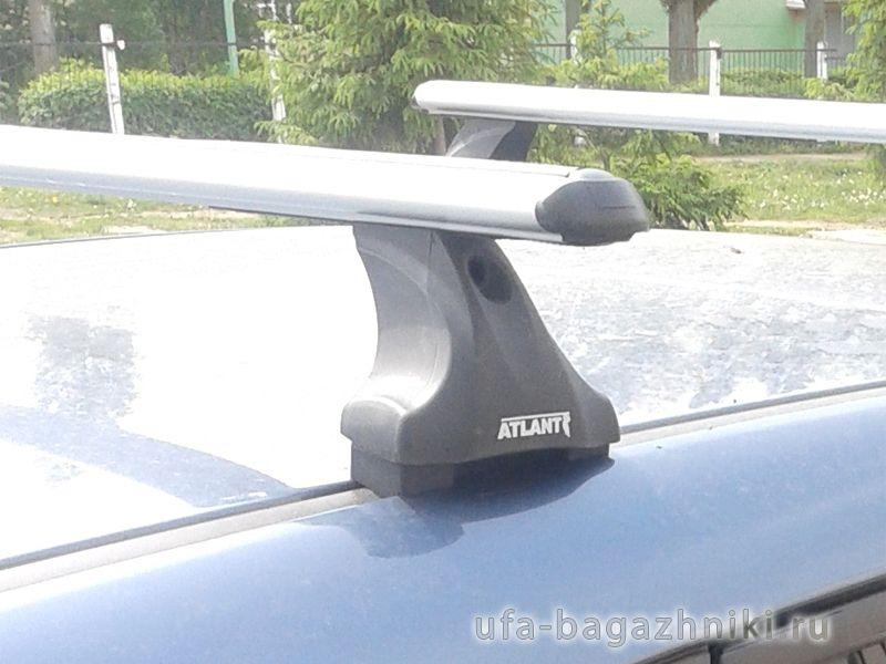 Багажник на крышу Mazda CX-9, Атлант, аэродинамические дуги