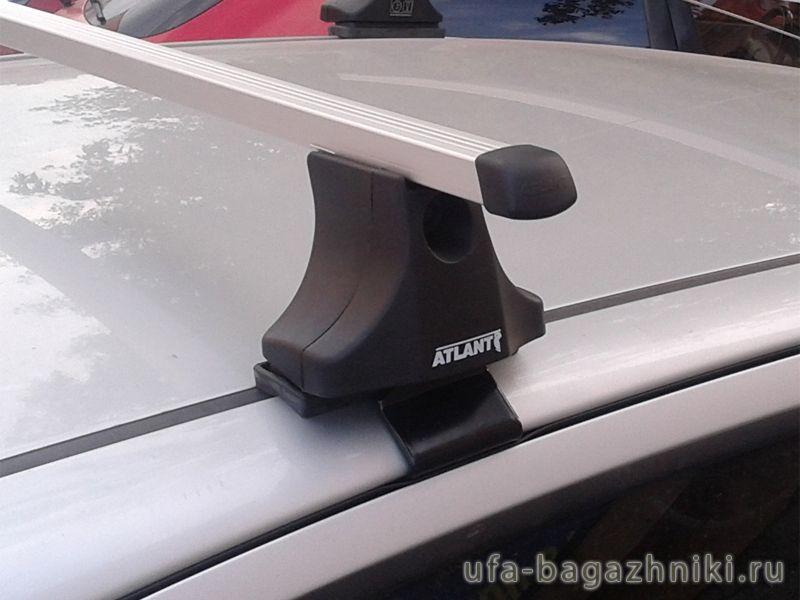 Багажник на крышу Hyundai Getz, Атлант, прямоугольные дуги