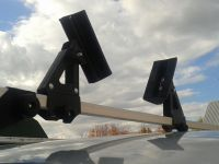 """Крепление для перевозки лодок """"Муравей"""" для прямоугольных дуг, 2 штуки"""