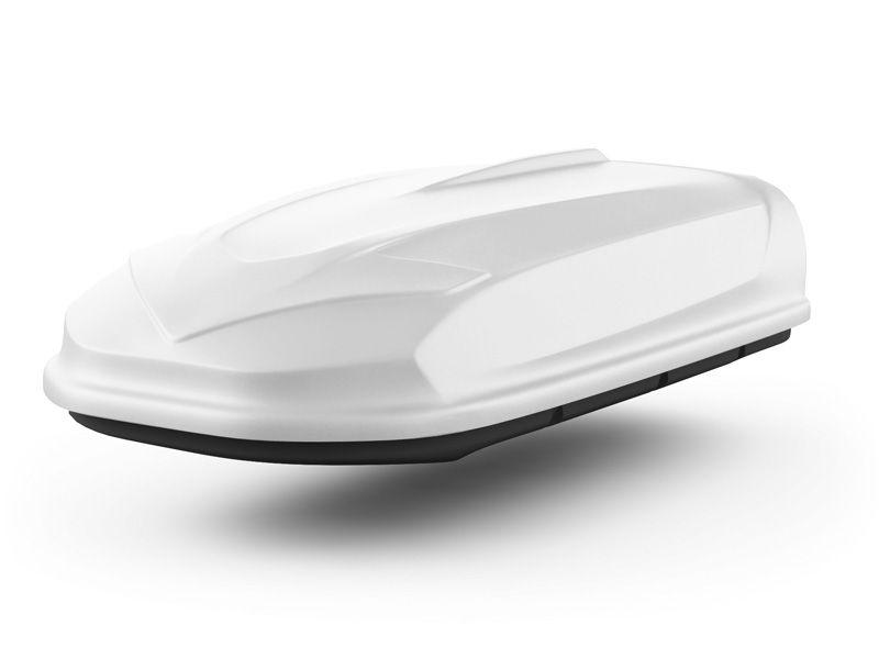 Автомобильный бокс на крышу Avatar EURO, 460 литров, белый матовый