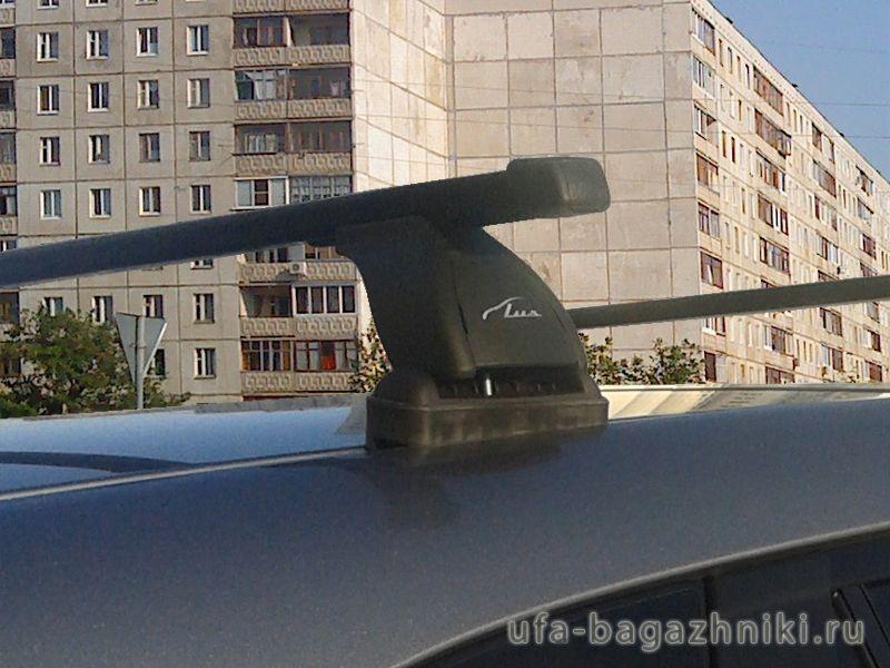 Багажник на крышу Mazda CX-5, Lux, стальные прямоугольные дуги
