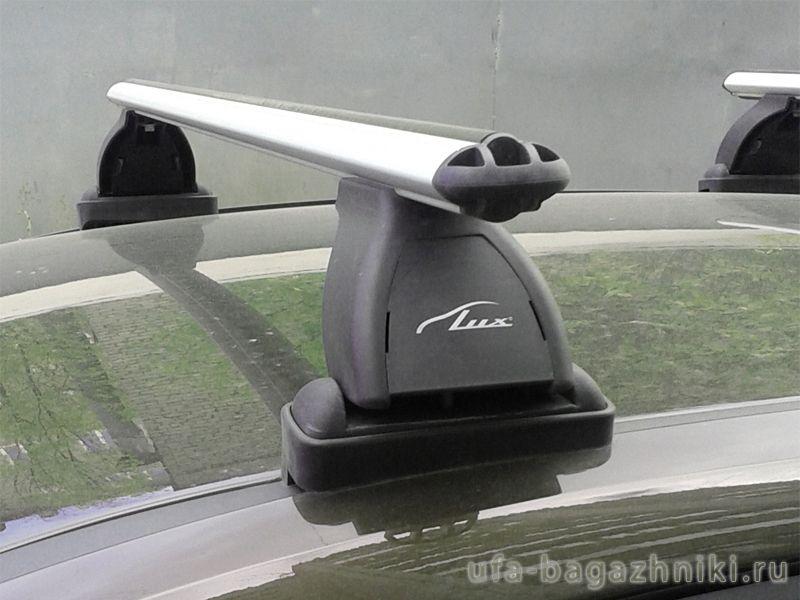 Багажник на крышу BMW 1-series F20 / F21, Lux, аэродинамические  дуги (53 мм)