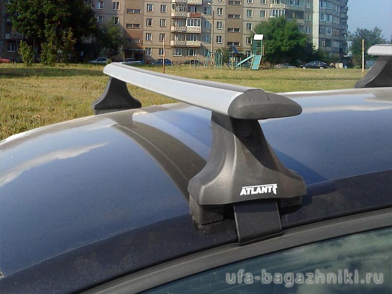 Багажник на крышу Volkswagen Golf 5,6, Атлант, крыловидные дуги, опора Е
