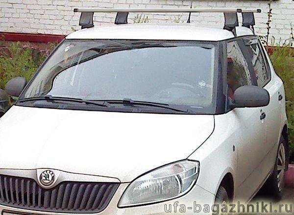 багажник на крышу для skoda fabia