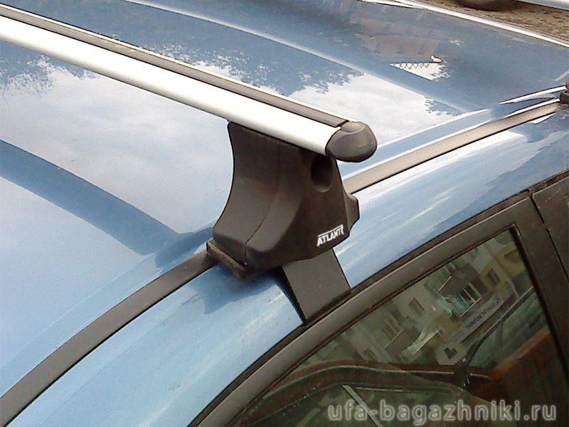 Багажник на крышу Honda Civic 2006-2011, Атлант, аэродинамические дуги