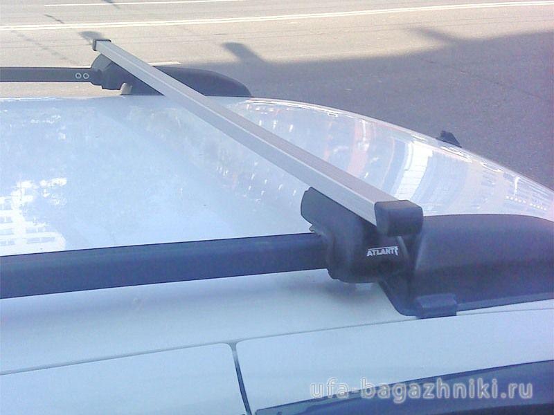 Багажник (поперечины) на рейлинги на Chevrolet Niva, Атлант, прямоугольные дуги