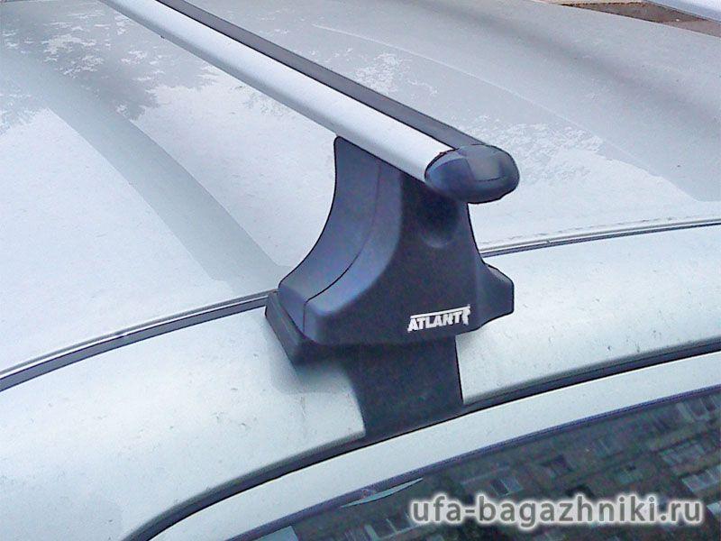 Багажник на крышу Nissan Primera, Атлант, аэродинамические дуги