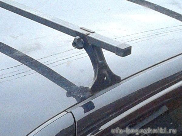 Багажник на крышу Лада Гранта, Евродеталь, стальные дуги