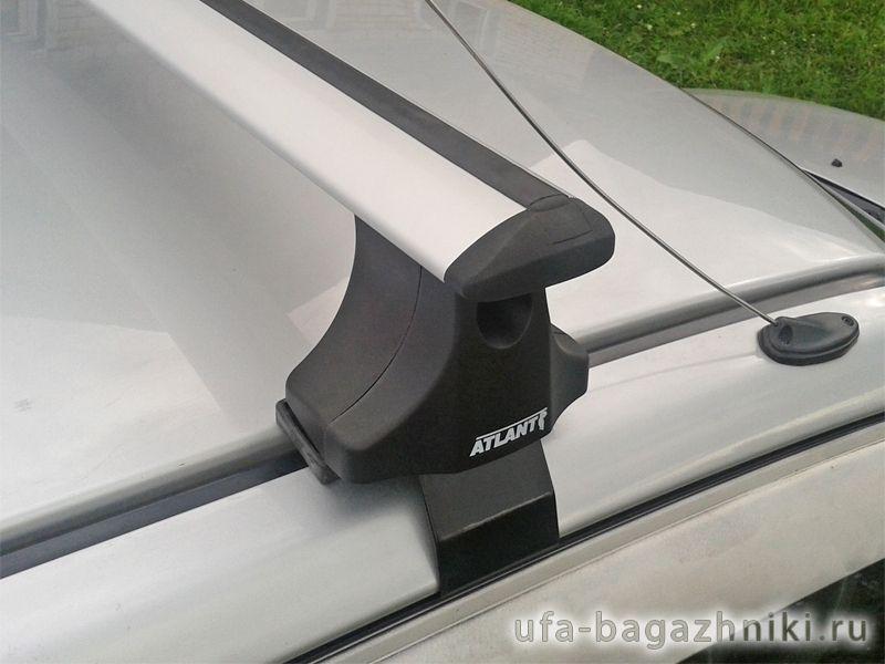 Багажник на крышу Ford Fusion, Атлант, крыловидные аэродуги