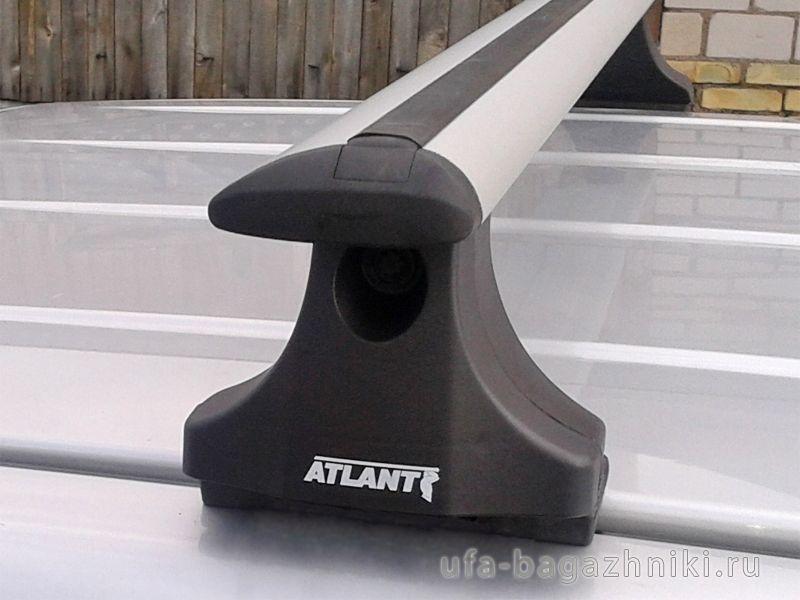 Багажник на крышу Fiat Panda, Атлант, крыловидные аэродуги