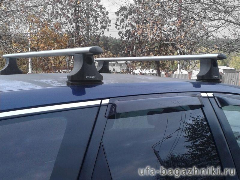 Багажник на крышу Mazda CX-7, Атлант, аэродинамические дуги