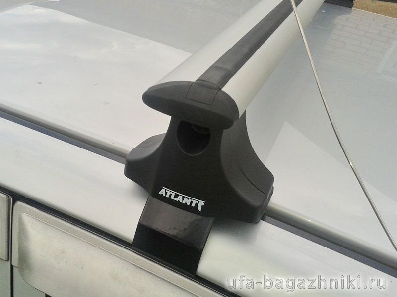 Багажник на крышу на Hyundai Matrix, Атлант, крыловидные дуги