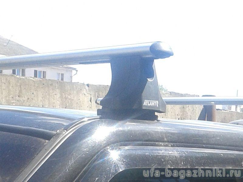 Багажник на крышу Ford Ranger, Атлант, аэродинамические дуги