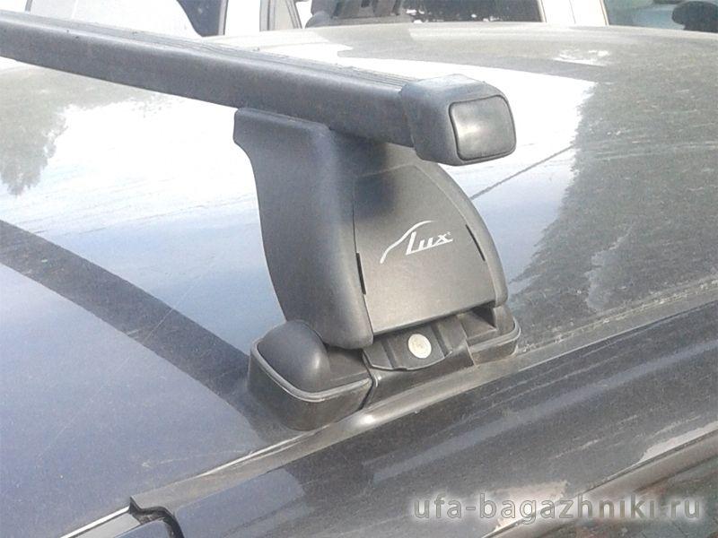 Багажник на крышу Lada Granta sedan / liftback, Lux, стальные прямоугольные дуги