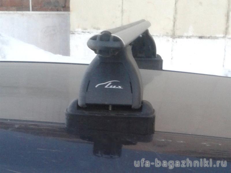 Багажник на крышу Opel Astra H, Lux, аэродинамические  дуги (53 мм)