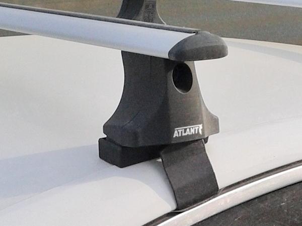 Багажник на крышу Skoda Superb B6 08-15, Атлант, крыловидные аэродуги