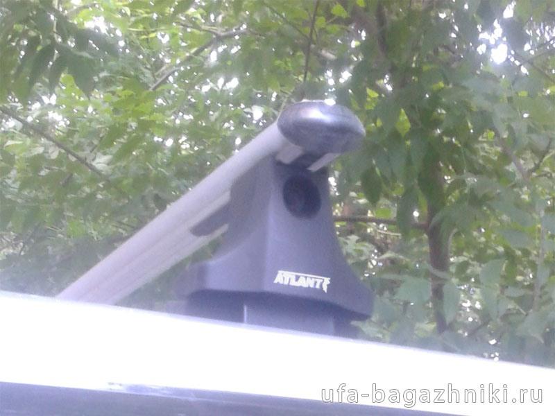 Багажник на крышу UAZ Patriot, Атлант, аэродинамические дуги